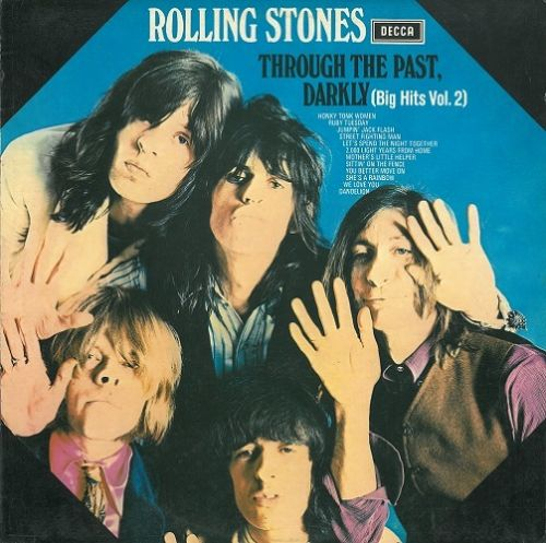 THE ROLLING STONES Through The Past Darkly Vinyl Record LP Decca 1969..